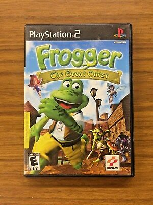 Frogger: The Great Quest (Sony PlayStation 2, 2001)