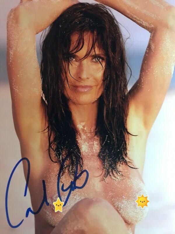 CAROL ALT SEXY ORIGINAL & VINTAGE HAND SIGNED AUTOGRAPHED PHOTO