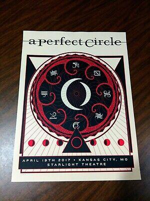 A Perfect Circle Kansas City Starlight Poster