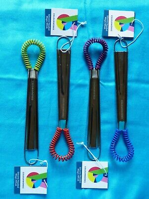 Colour Works by Kitchen Craft ' magic' mini silicone whisk in 4 bright colours