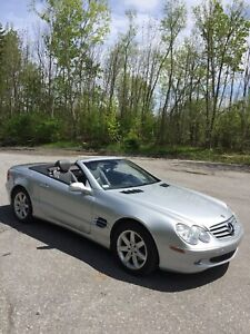 Mercedes SL500 First Owner Over $110,000 New