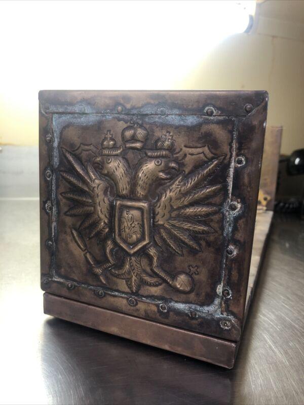 Estate Find WW1 German Trench Art Book Holder