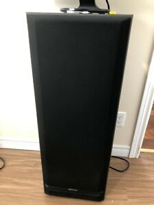 Two 12'' kenwood speakers,