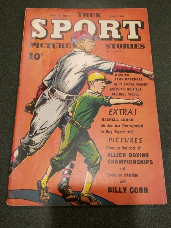 True Sport Picture Stories Vol. 3 #1  3.5 1945
