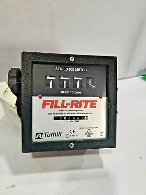 Tuthill Fill-rite Series 900 Meter - C-hsc-fm-92 Flow Meter - Dual Filter