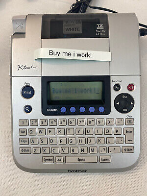 Brother P-touch Pt-1830 Label Maker Printer Portable Power Adapter Included