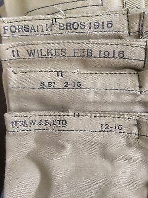 REPRODUCTION WORLD WAR ONE BRITISH MK II COTTON BANDOLIER SMLE .303 S. B. 1916