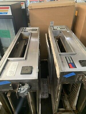 Middleby Marshall Ps 570s 2 Deck Stacked Gas Pizza Oven- 32 Conveyor