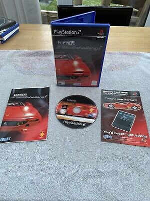 RARE - ferrari f355 challenge PlayStation 2 Ps2 - PAL Complete W/ Manual VGC