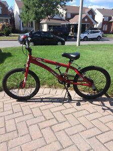 Red BMX (mint condition)