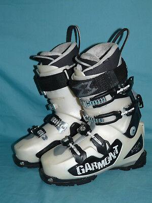 (Garmont ASYLUM FR120 Women's Alpine Touring AT Downhill Ski BOOTS size 27.5)