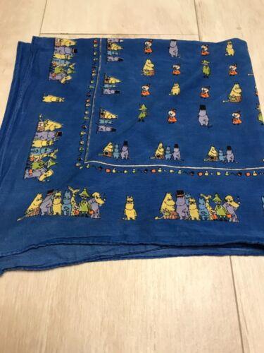 Moomin kids  scarf Blue 1992