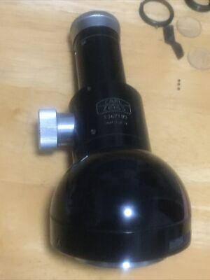 Zeiss Polarizing Microscope Monocular Head Wl Kpl8x Eyepiece Pol Flip-in Filter