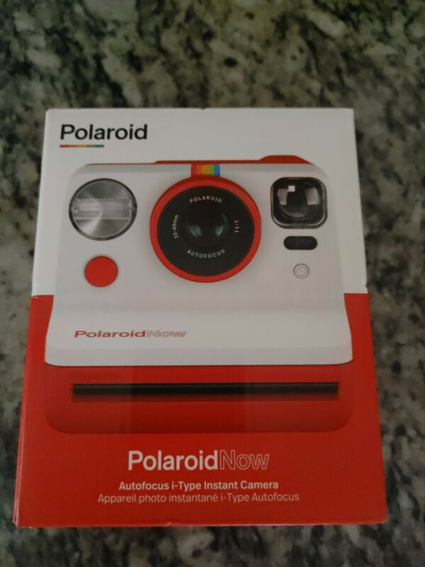 Polaroid NOW i-type Instant Camera Brand New Never Opened! Autofocus Red!