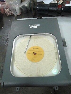 Bristol Humidigraph Chart Recorder Range 0-100 R.h. Chart 55010 120v New