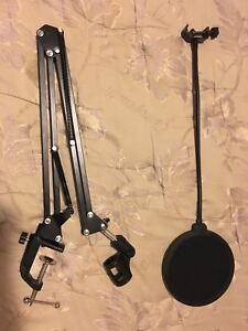 Mic Stand and Pop Filter