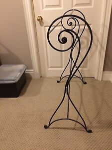 Wrought iron Pier 1 blanket stand