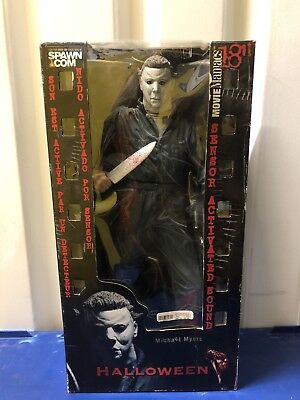 """McFarlane Movie Maniacs 18"""" Motion Activated Figure Michael Myers Halloween MM87](Motion Activated Halloween Toys)"""