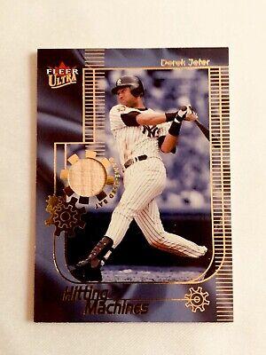 2002 Ultra Hitting Machines Game Bat Derek Jeter