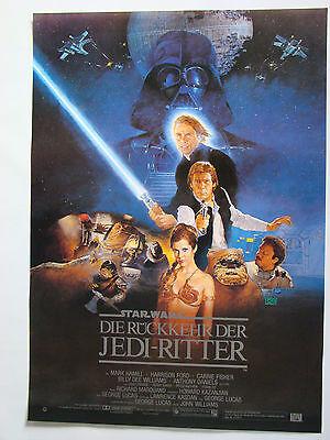 Die Rückkehr der Jedi-Ritter STAR WARS - Original Filmplakat DIN A1 (gerollt)