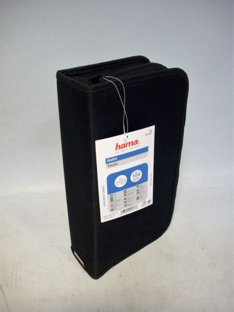 Hama CD/DVD Nylontasche -11617-104-  schwarz