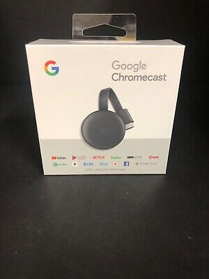 Google Chromecast Streaming Media Player BRAND NEW