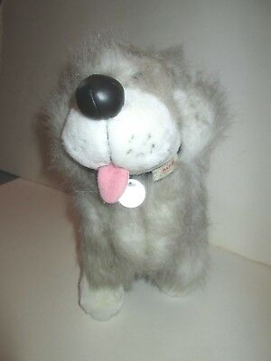 "DAN THE ALPO DOG FOOD MASCOT ADVERTISING PLUSH RUSS BERRIE 9"" TALL PREMIUM"