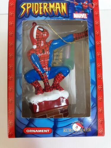Spider-Man Christmas ornament Kurt Adler 2003 Marvel...NEW
