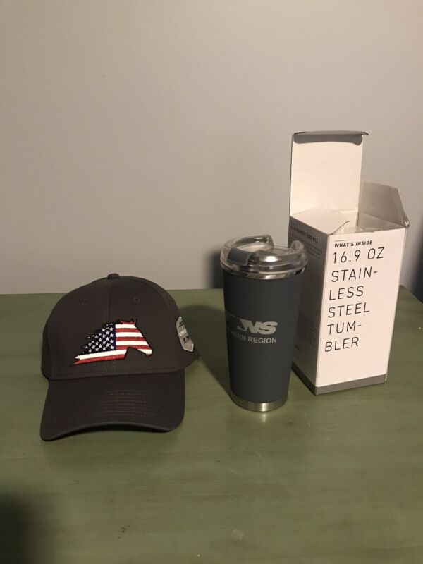 Norfolk Southern Tumbler With Hat