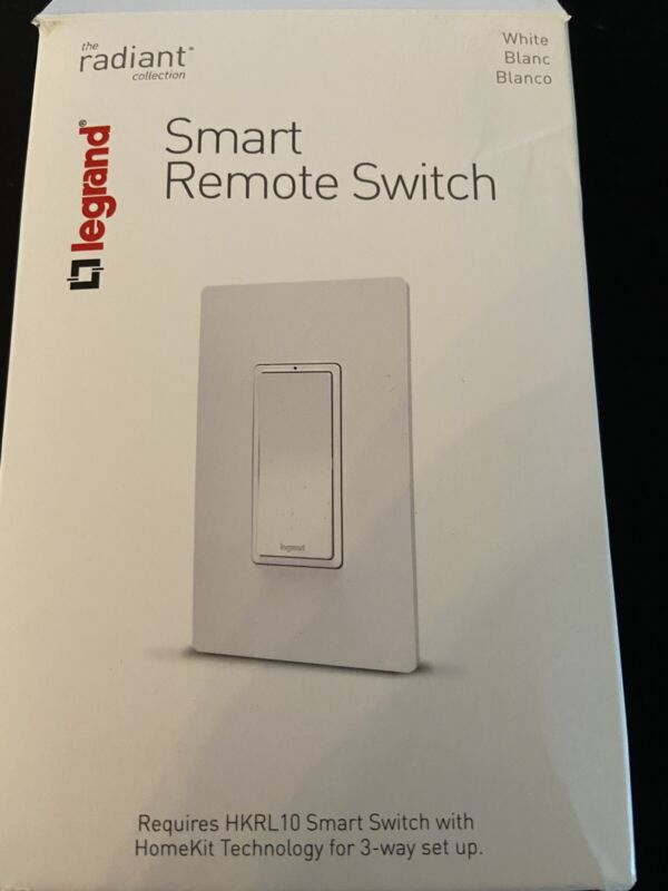 Legrand Smart Remote Switch HKRL20, White, Radiant Collection NEW!