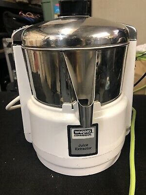 Waring Commercial Juice Extractor Juicer Professional Model 6001c