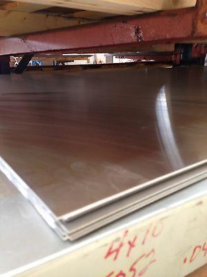 Aluminum Sheet Plate .040 X 24 X 24 Alloy 5052