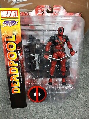"""Marvel Select 7"""" Deadpool Action Figure - New for sale  Shipping to India"""