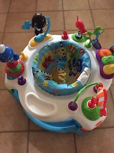 Baby Einstein Rhythm of The Reef Activity Saucer like New
