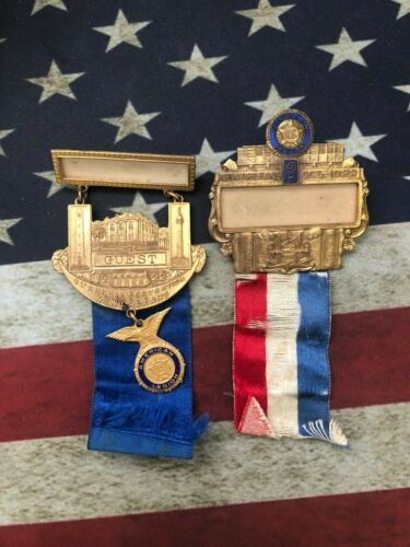 1922 4th American Legion National Convention medal set