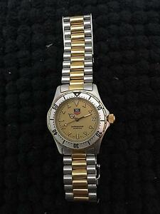 Tag Heuer Midsize Professional Gold plated Dial 2000 Redlynch Cairns City Preview