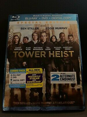 Tower Heist BLU-RAY/DVD Used