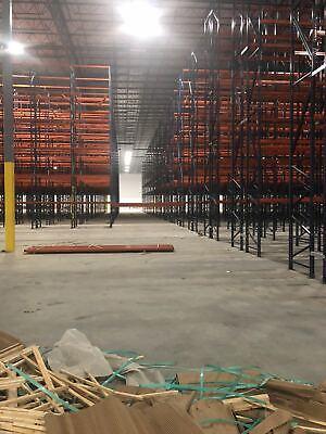 Warehouse Pallet Racks Heavy Weight Capacity Teardrop System Interlake