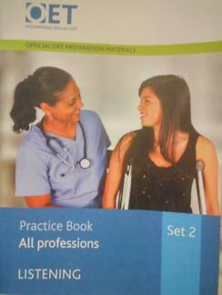 Official OET listening practice book