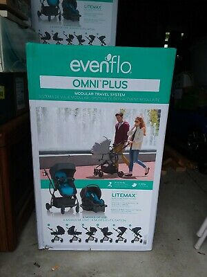 LOCAL PICKUP--EVENFLO Omni Plus Modular Travel System with Litemax car seat