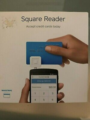 Square Credit Card Reader For Mobile Devices - Brand New Sealed