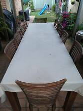 Out door dinning table set Greenacre Bankstown Area Preview