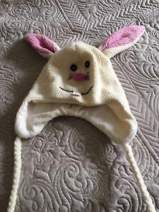 Wool rabbit hat