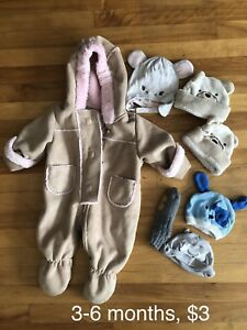 Winter baby lot 3-6 months