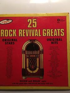 25 rock revival greats. LP.