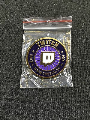 Twitch Exclusive Pin   Pax 2014   Rare   New   Twitch Tv