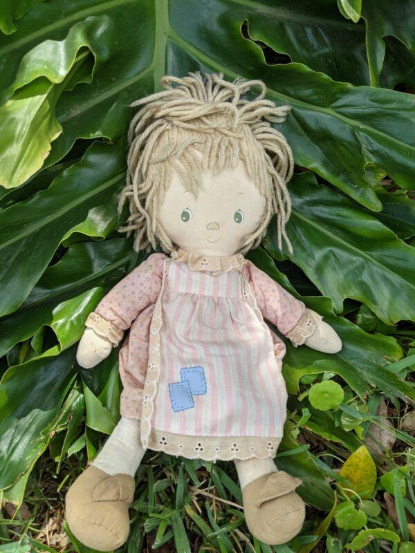 """Original Betsey Clark Vintage Knickerbocker Rag Doll 1977 14"""""""