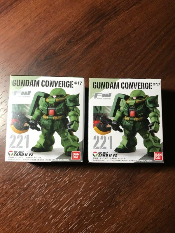 Gundam Fusion works 221 Gundam Converge # 17 MS-06FZ ZAKU II FZ NEW IN MINT BOX