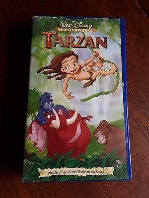 VHS Walt Disney Meisterwerke Tarzan