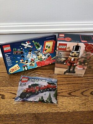 LEGO 40254 Christmas NUTCRACKER Factory Sealed + 30543 Train + 40222 Advent 24/1